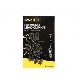 Avid Carp Avid Carp QC Micro Lead Clip Kit