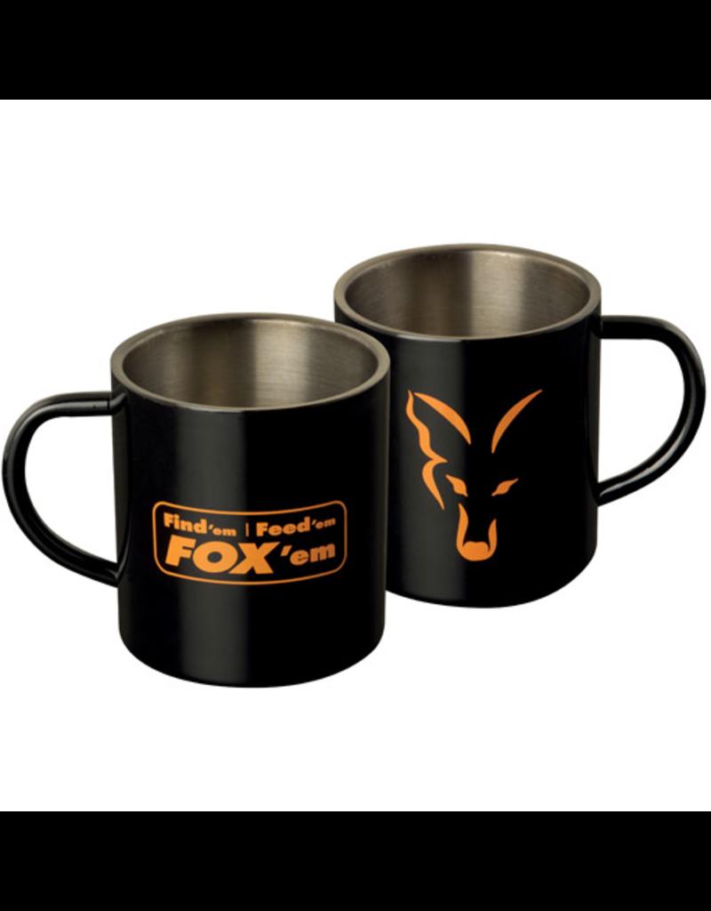 Fox Fox Stainless Black XL 400ml Mug