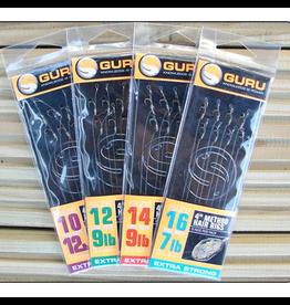 "Guru Guru Ready Rigs 4"" Method Hair Rig"