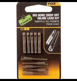 Fox Fox Edges Big Bore Drop Off Inline Lead Kit