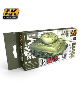 AK interactive Olive Drab Modulation Set