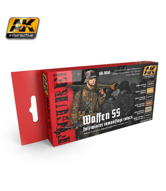 AK interactive Waffen SS Fall/Winter Camouflage Colors
