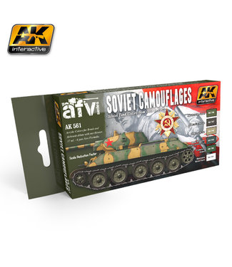 AK interactive Soviet Camouflages Set