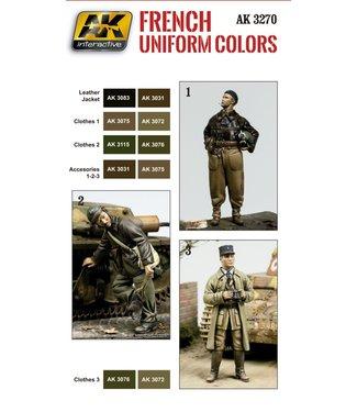 AK interactive French Uniform Colors