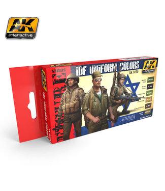 AK interactive IDF Uniform Colors