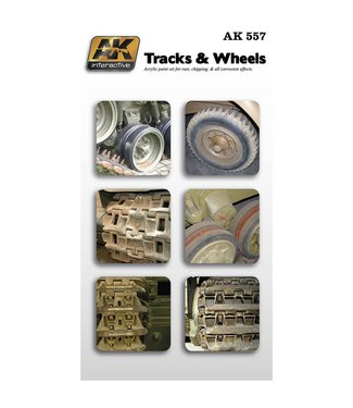 Rubicon Models Track and Wheels Acrylic Set