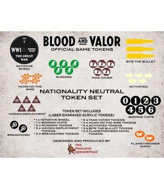 Blood & Valor Blood and Valor Nationality Neutral Token Set