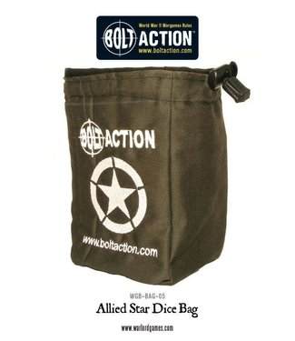 Bolt Action Bolt Action Allied Star Dice Bag