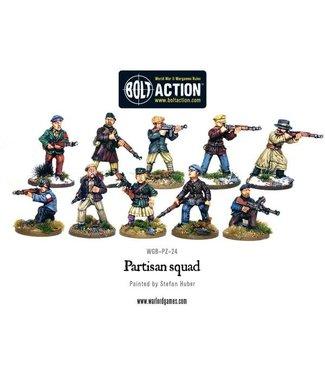 Bolt Action Partisan Squad