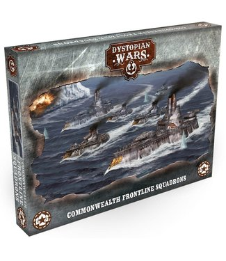 Dystopian Wars Commonwealth Frontline Squadrons