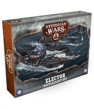 Dystopian Wars Elector Battlefleet Set