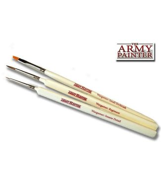The Army Painter Most Wanted Brush Set - Small Drybrush, Insane Detail, Regiment