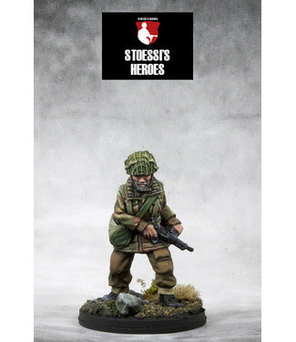 Stoessi's Heroes British Airborne Lieutenant – Joseph Winston (Pat) Glover & Myrtle Para-Chick