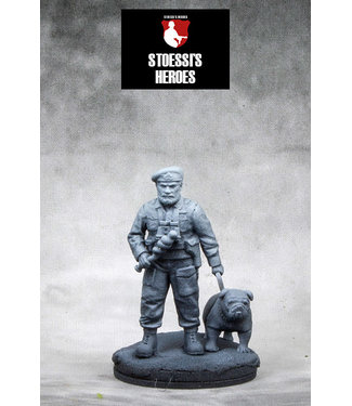 Stoessi's Heroes British Navy Beach Master & Captain Colin Maud