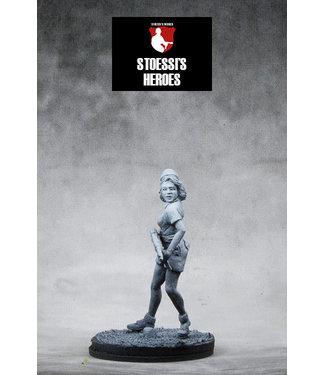 Stoessi's Heroes French Resistance  SOE – Simone Segouin aka Nicole Minet