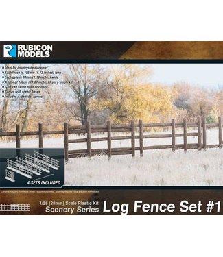 Rubicon Models Log Fence Set