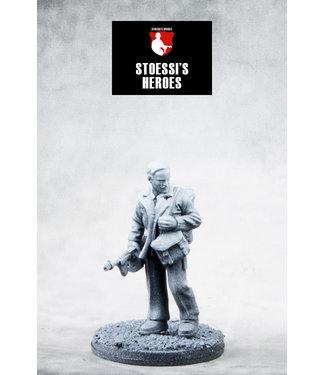 "Stoessi's Heroes British Army Lieutenant (SAS) – John Steel ""Jock"" Lewes"