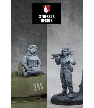 Stoessi's Heroes Soviet Army Guards Senior Sergeant – Mariya Oktyabrskaya
