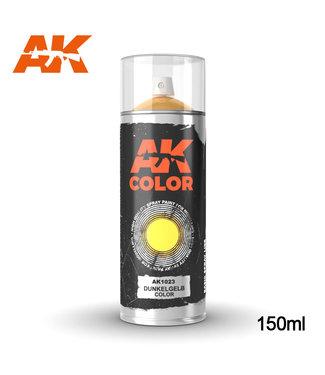 AK interactive Dunkelgelb Spray