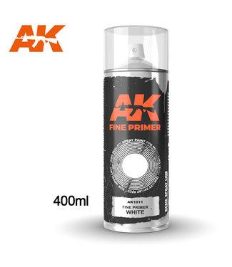 AK interactive Fine Primer White Spray
