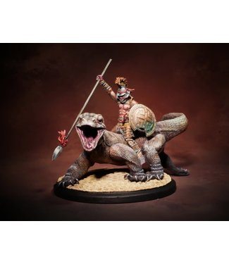 Arena Rex Ladon (with riding Cato)