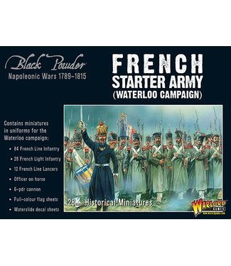 Black Powder Napoleonic French starter army (Waterloo campaign)
