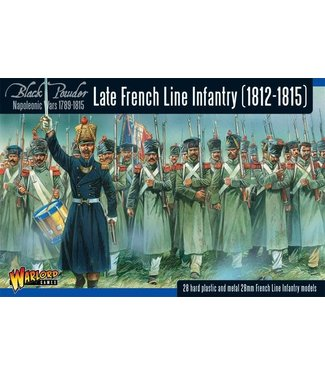 Black Powder Napoleonic War Late French Line Infantry (1812-1815)