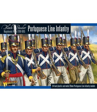 Black Powder Napoleonic Portuguese Line Infantry