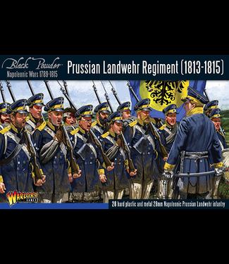 Black Powder Prussian Landwehr regiment 1813-1815
