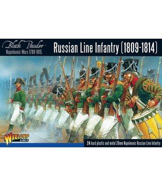 Black Powder Russian Line Infantry 1809-1814
