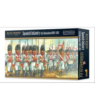 Black Powder Spanish Infantery (1st Battalion) 1805-1811