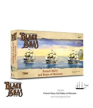 Black Seas French Navy 3rd Rates of Renown