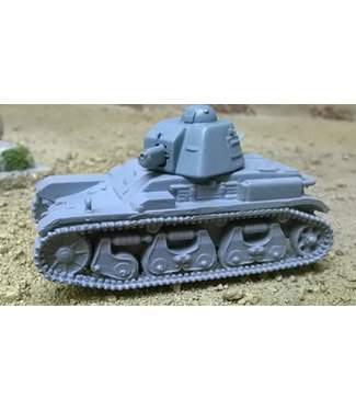 Blitzkrieg Miniatures R35 Light Tank - 1/56 Scale