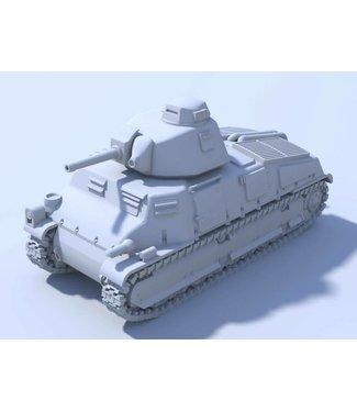 Blitzkrieg Miniatures S35 Somua - 1/56 Scale