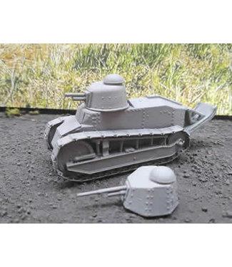 Blitzkrieg Miniatures Renault FT17 - 1/56 Scale