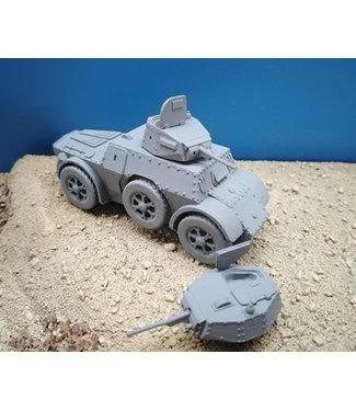 Blitzkrieg Miniatures Autobinda AB41/43 Armoured Car - 1/56