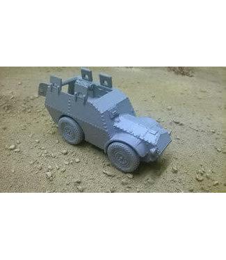 Blitzkrieg Miniatures Autoblindo AS37 Troop Carrier - 1/56 Scale