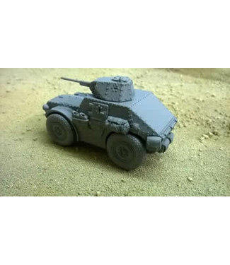 Blitzkrieg Miniatures Autoblindo AS43 - 1/56 Scale
