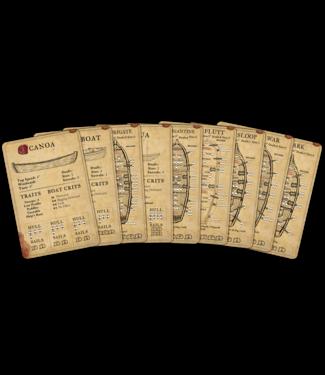 Blood & Plunder Alternate Ship Cards