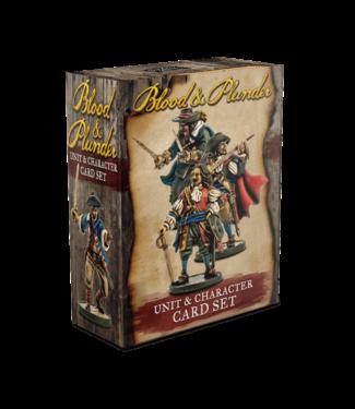 Blood & Plunder Unit & Character Card Set