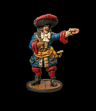 Blood & Plunder French Buccaneer Commander