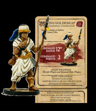 Blood & Plunder King Golden Cap