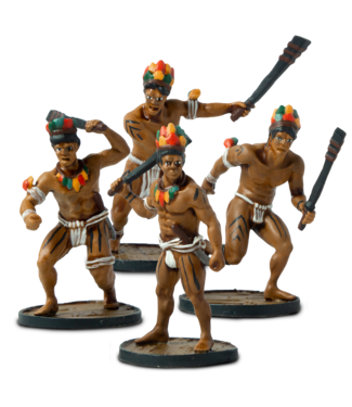 Blood & Plunder Native Warriors Unit