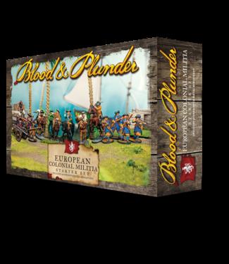 Blood & Plunder European Colonial Militia Set