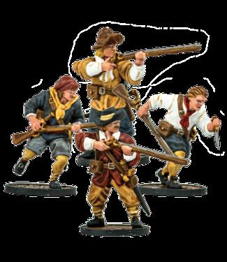 Blood & Plunder European Sailor Musketeers
