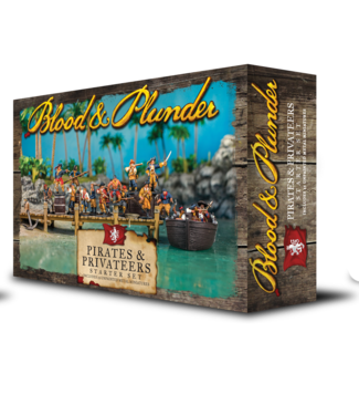 Blood & Plunder Pirates and Privateers Set