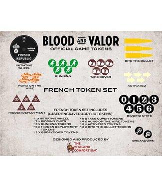 Blood & Valor Blood and Valor French Token Set