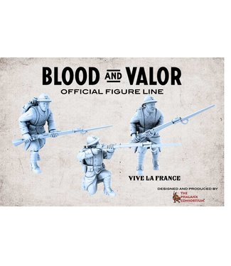 Blood & Valor WWI French Army Starter Box 1917-'18