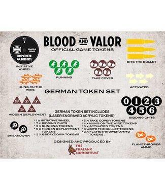 Blood & Valor Blood and Valor German Token Set