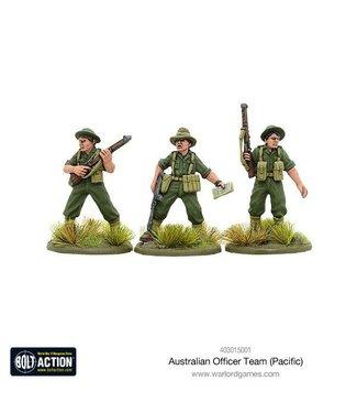 Bolt Action Australian Officer Team (pacific)